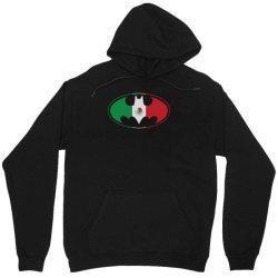 bat man mexican flag mexico logo Unisex Hoodie   Artistshot