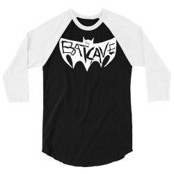 batcave goth logo 3/4 Sleeve Shirt | Artistshot