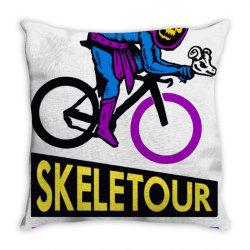 skeletour 83 Throw Pillow | Artistshot