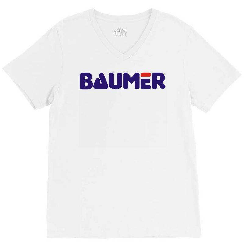 Baumer V-neck Tee | Artistshot