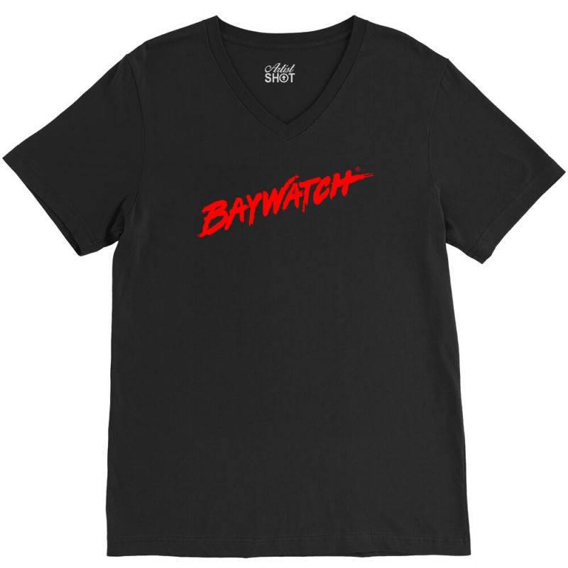 Baywatch V-neck Tee   Artistshot