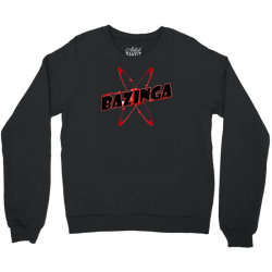bazinga logo inspired by the big bang theory ideal birthday gift Crewneck Sweatshirt | Artistshot