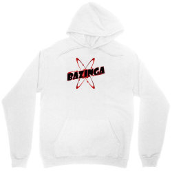 bazinga logo inspired by the big bang theory ideal birthday gift Unisex Hoodie | Artistshot