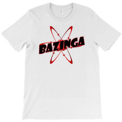 bazinga logo inspired by the big bang theory ideal birthday gift T-Shirt | Artistshot
