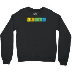 bazinga periodic table Crewneck Sweatshirt | Artistshot