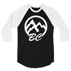 bc mountains british col 3/4 Sleeve Shirt | Artistshot