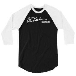 bc rich new 3/4 Sleeve Shirt   Artistshot