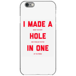 i made a bogey on every hole and threw putter in one iPhone 6/6s Case | Artistshot