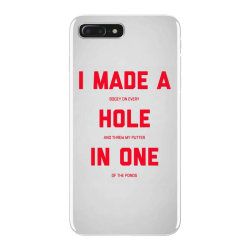 i made a bogey on every hole and threw putter in one iPhone 7 Plus Case | Artistshot
