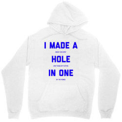 i made a bogey on every hole and threw putter in one Unisex Hoodie | Artistshot