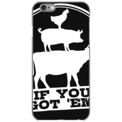 b.b.q  t shirts for men funny smoke meat smoking gift for dad iPhone 6/6s Case | Artistshot