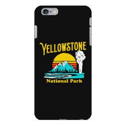 vintage yellowstone national park iPhone 6 Plus/6s Plus Case | Artistshot