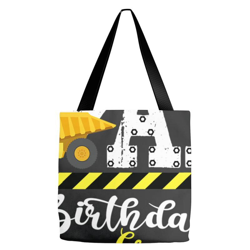 B Day Party Dad Birthday Crew Con.struc.tion Birthday Party T Shirt Tote Bags | Artistshot