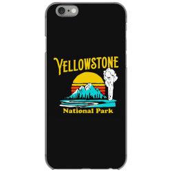 vintage yellowstone national park iPhone 6/6s Case | Artistshot