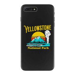 vintage yellowstone national park iPhone 7 Plus Case | Artistshot