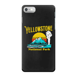 vintage yellowstone national park iPhone 7 Case | Artistshot