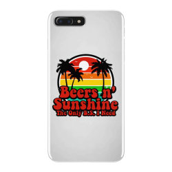 the only bs i need is beers and sunshine iPhone 7 Plus Case | Artistshot
