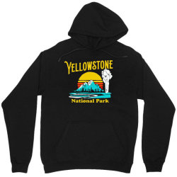vintage yellowstone national park Unisex Hoodie | Artistshot