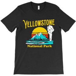 vintage yellowstone national park T-Shirt | Artistshot