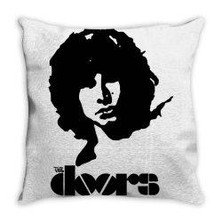 the doors Throw Pillow | Artistshot