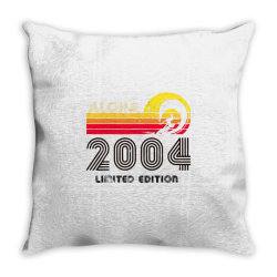 aloha 2004 limited edition Throw Pillow | Artistshot