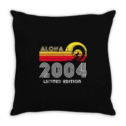 aloha 2004 limited edition Throw Pillow   Artistshot