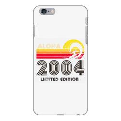 aloha 2004 limited edition iPhone 6 Plus/6s Plus Case | Artistshot