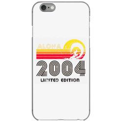 aloha 2004 limited edition iPhone 6/6s Case | Artistshot
