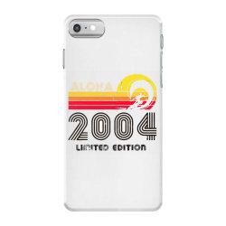 aloha 2004 limited edition iPhone 7 Case | Artistshot