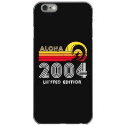 aloha 2004 limited edition iPhone 6/6s Case   Artistshot