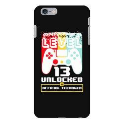 13th birthday gift boys level 13 unlocked iPhone 6 Plus/6s Plus Case | Artistshot