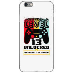 13th birthday gift boys level 13 unlocked iPhone 6/6s Case | Artistshot