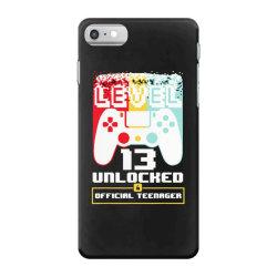 13th birthday gift boys level 13 unlocked iPhone 7 Case | Artistshot