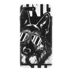 being a dad is ruff german shepherd pup dad t shirt iPhone 7 Plus Case | Artistshot