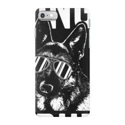 being a dad is ruff german shepherd pup dad t shirt iPhone 7 Case | Artistshot
