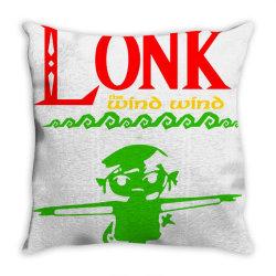 the legend of lonk Throw Pillow   Artistshot