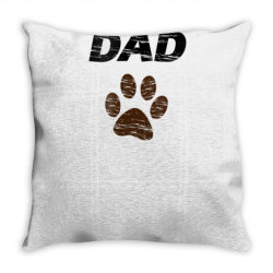 bernedoodle dad t shirt  mens & kids tee   gift fathers day Throw Pillow | Artistshot