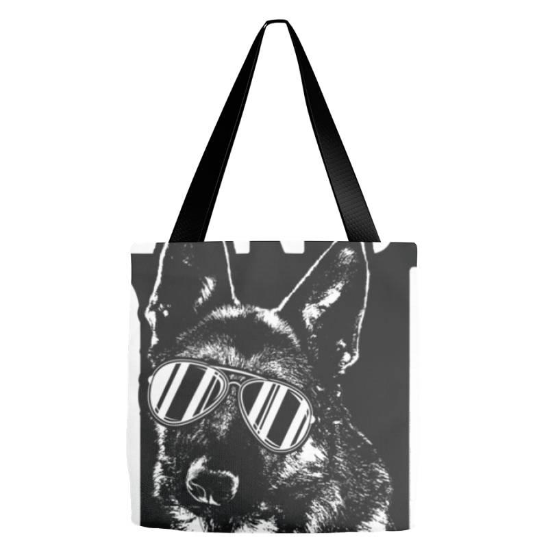 Being A Dad Is Ruff German Shepherd Pup Dad T Shirt Tote Bags | Artistshot