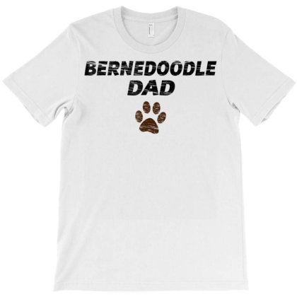Bernedoodle Dad T Shirt  Mens & Kids Tee   Gift Fathers Day T-shirt Designed By Time0205