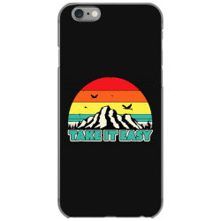 take it easy retro style outdoors iPhone 6/6s Case | Artistshot