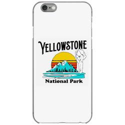 vintage yellowstone national park iPhone 6/6s Case   Artistshot