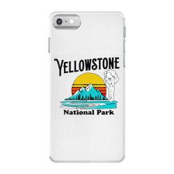 vintage yellowstone national park iPhone 7 Case   Artistshot