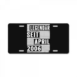 legendär seit april 2006 License Plate | Artistshot