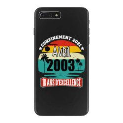 confinement 2021 april 2003 18 ans d'excellence iPhone 7 Plus Case | Artistshot
