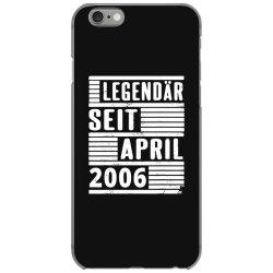 legendär seit april 2006 iPhone 6/6s Case | Artistshot