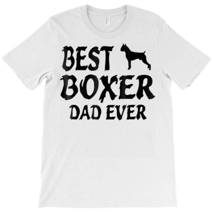 Best Boxer Dad Ever Tshirt T-shirt Designed By Time0205