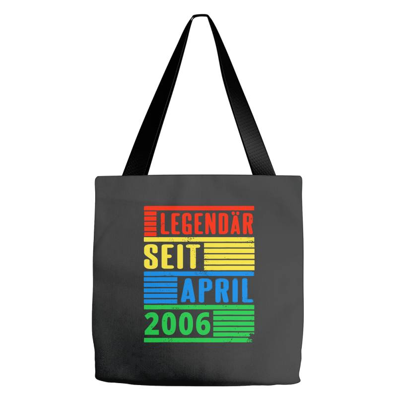 Legendär Seit April 2006 Tote Bags | Artistshot