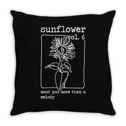 sunflower style hs Throw Pillow | Artistshot