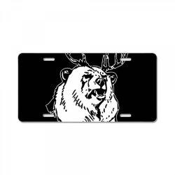 macs bear beer License Plate | Artistshot