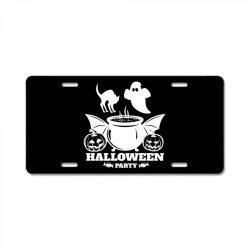Haloween License Plate | Artistshot